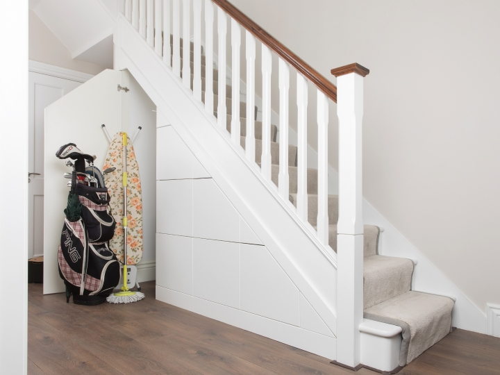 Under Stairs Storage Maximise The Space Under Your Stairs   Under Stair Toilet Design   Toilet Separate   Small   Powder Room   Down   Minimalist