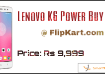 Lenovo K6 Power Buy Now From Flipkart