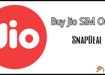 Buy Jio SIM Online from Snapdeal.com