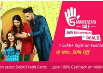 Shopclues 5th Anniversary Sale