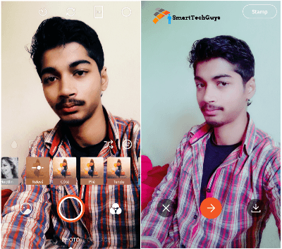 Retrica All Features & Final Interface Lookup