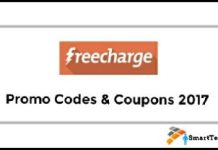 FreeCharge Promo Code & Coupons 2017