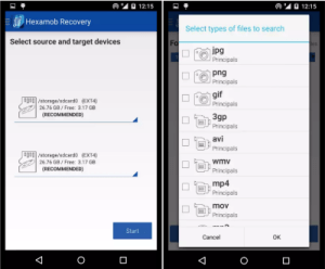 Hexamob Recovery - Recover Deleted Files on Android Without Computer