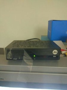Jio Set Top Box Leaked Image 1: Jio DTH