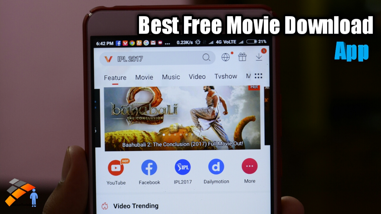 android free movie download app