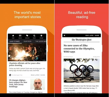 Best Short News Application