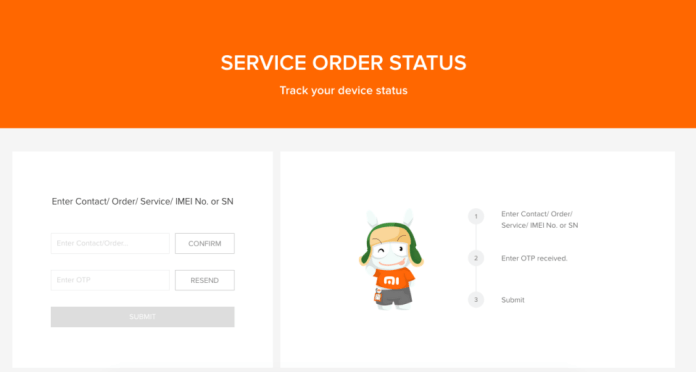 How To Track Repair Status Of Your Xiaomi Device On Mi.com 2