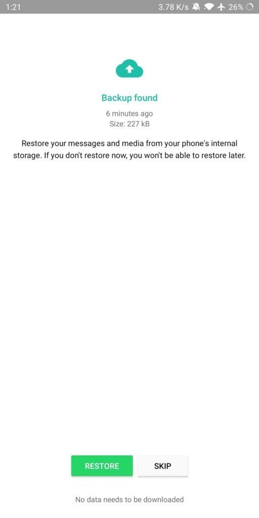 read deleted whatsapp massages