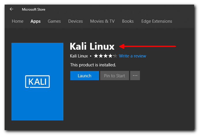 How to Install & Configure Kali Linux Windows 10 App