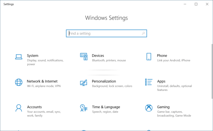 Windows 10 Settings not opening