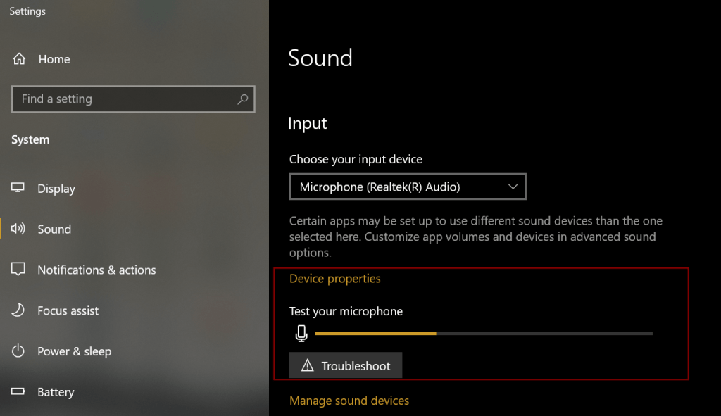 how to test microphone on windows 10