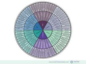 Neuroscience Emotion Wheel