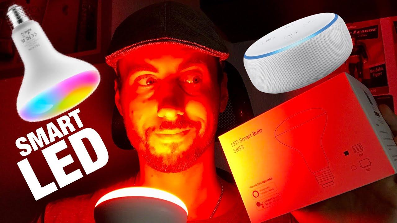 Intelligente LED Lampe von Teckin mit Amazon ALEXA und Google Assista...