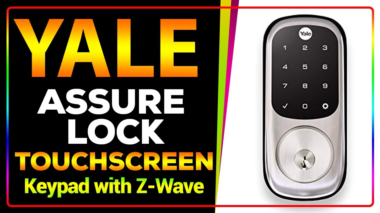 Yale Assure Lock Touchscreen Keypad with Z-Wave, Satin Nickel, YRD226...