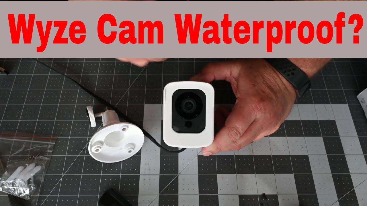 SeekOne Waterproof Wyze camera enclose - IR still works!