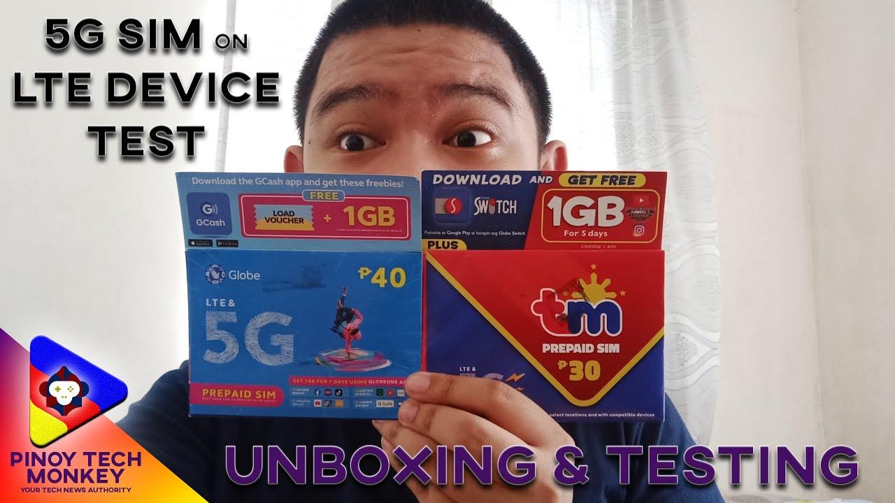 Globe 5G SIM Unboxing and Testing (using LTE Device) | Mas Mabilis?
