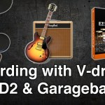 Recording with V-drums and EZD2 in Garageband