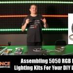 Assembling The 5050 RGB LED Strip Lighting Kits For Your DIY LED Proj...