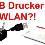 USB Drucker im Netzwerk (WLAN / LAN) für Windows und Android mit der ...