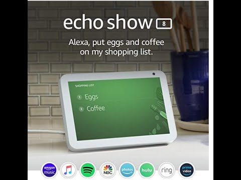 Alexa echo show 8 features