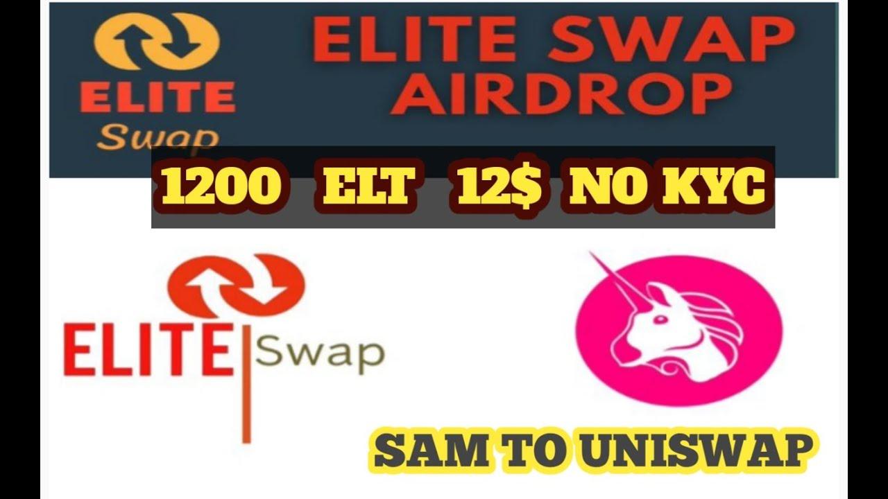 New Big Airdrop Earn UpTo 1200 ELT [~$12] + 300 ELT [~$3] Per Referra...