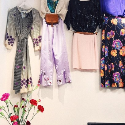 XX vintage kleding stijling