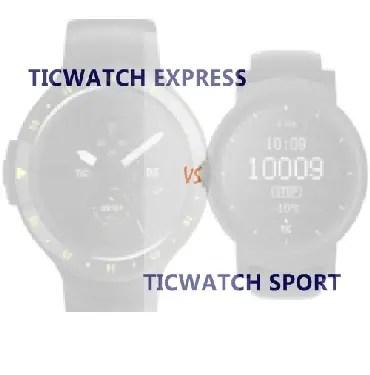 ticwatch e vs s