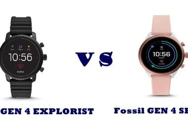 fossil gen 3 vs gen explorist vs sport