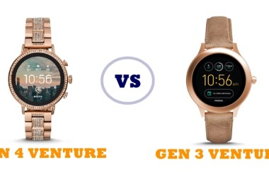 fossil gen 4 q venture vs gen 3 q venture compared