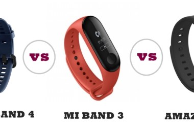 honor band 4 vs mi band 3 vs amazfit cor