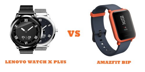 Lenovo Watch X Plus Vs Amazfit Bip Compared Smartwatch Series