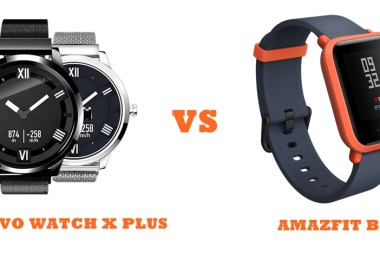 lenovo watch x plus vs amazfit bip compared