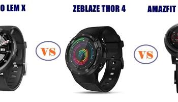 Zeblaze Thor Pro vs Thor 4 vs Thor 4 Pro – Which is Better