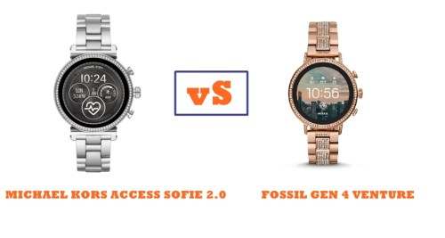 70619d384347 Michael Kors Access Sofie 2.0 vs Fossil Gen 4 Venture Compared