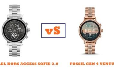 michael kors access sofie 2.0 vs fossil gen 4 venture