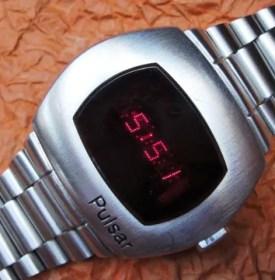 Pulsar LED prototype smartwatch
