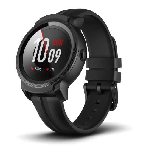 ticwatch e2 smartwatch - low budget fitness smartwatch
