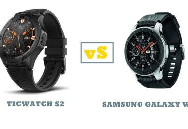 ticwatch s2 vs samsung galaxy watch compared