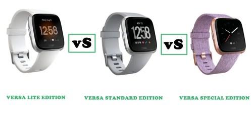 fitbit versa vs versa limited edition