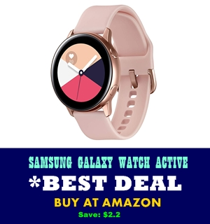 samsung galaxy watch active - best fitness smartwatch