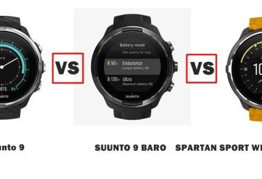 suunto 9 vs 9 baro vs spartan sport wrist hr baro amber compared