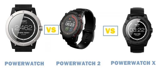 matrix powerwatch vs powerwatch 2 vs powerwatch x