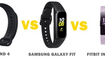Mi Band 4 vs Honor Band 4 vs Fitbit Charge 3 Compared