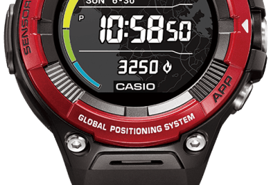 casio pro trek WSD-F20i HR specs