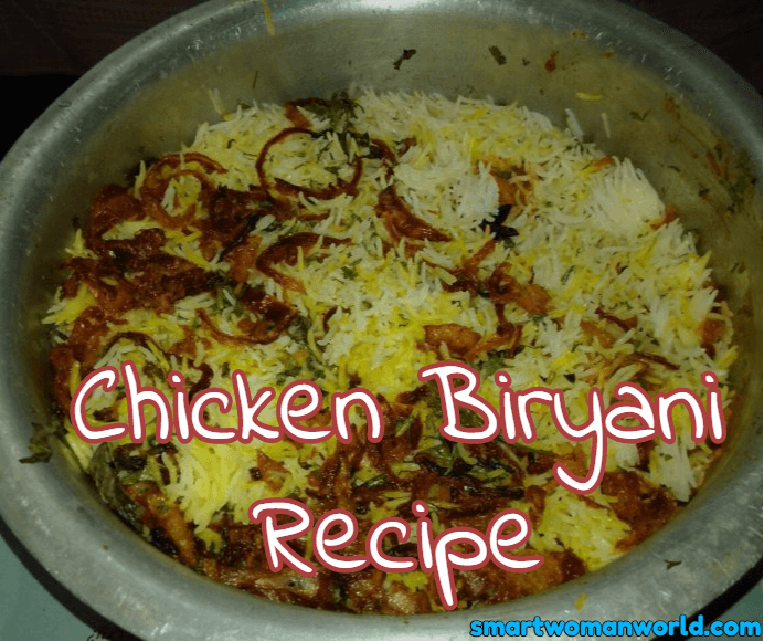 Easy To Make Chicken  Biryani Recipe
