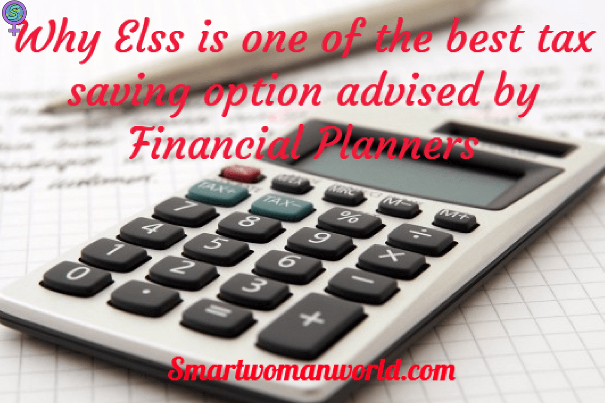 Why Elss Is One Of The Best Tax Saving Option Advised By Financial Planners