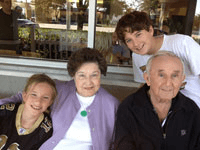 11-30-12 Note Kids with Joy's Parents