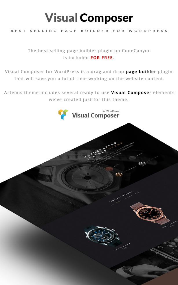 Artemis WooCommerce WordPress Theme Visual Composer