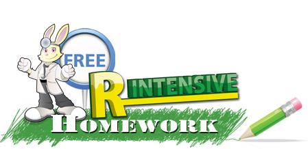 r intensive homework free