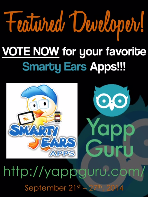 Smarty Ears is featured on Yapp Guru